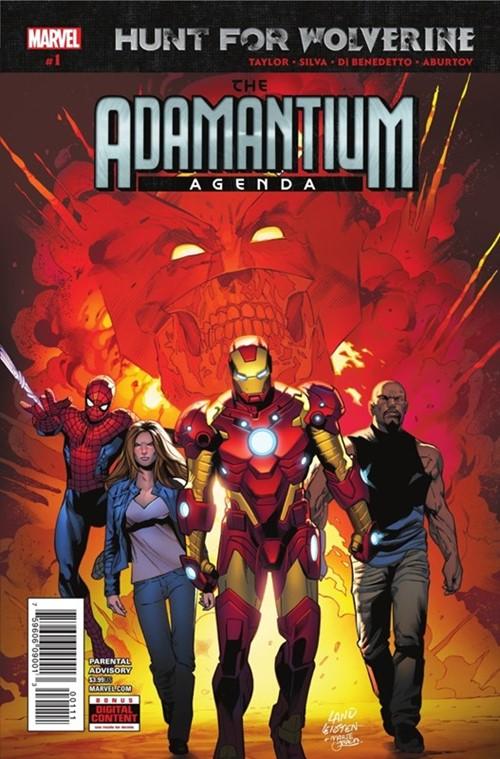 Comic Cover for Hunt For Wolverine: Adamantium Agenda (#1)