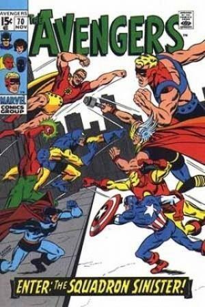 Comic Cover for Avengers (#70)