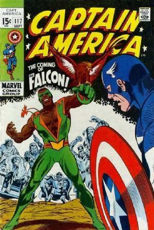 Comic Cover for Captain America (#117)