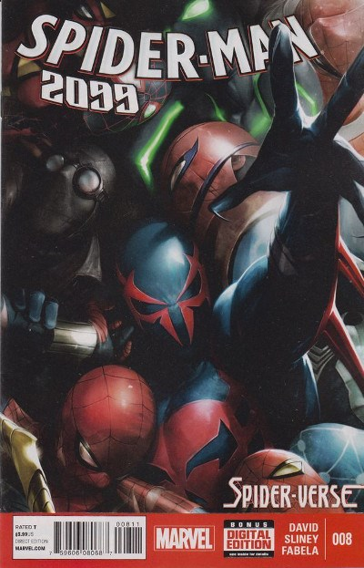 (Marvel) Cover for Spider-Man 2099 #8