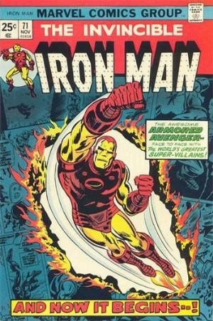 Comic Cover for Iron Man (#71)