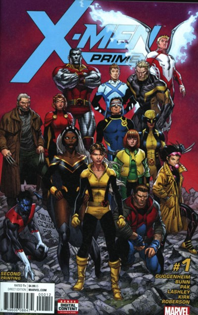 (Marvel) Cover for X-Men Prime #1 Ardian Syaf Second Printing Variant Cover