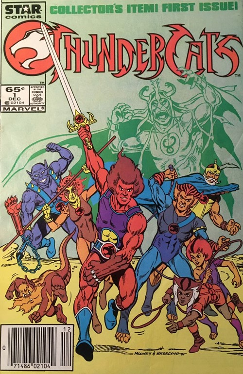 (Star) Cover for Thundercats #1 TV Cartoon Tie-In