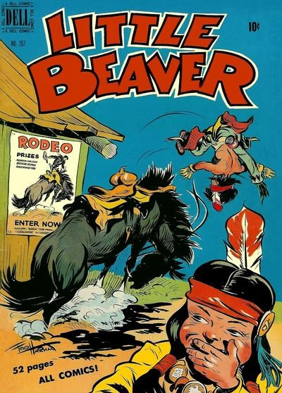 Comic Cover for Little Beaver (Four-Color) (#267)