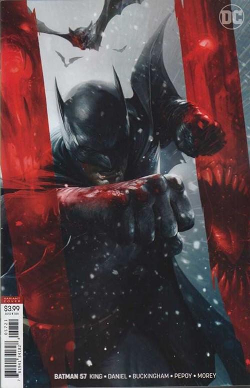 (DC) Cover for Batman #57 Francesco Mattina Variant Cover