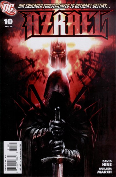 (DC) Cover for Azrael #10