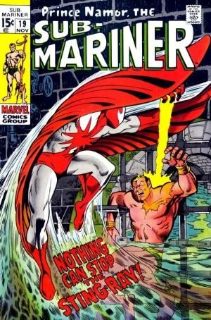 Comic Cover for SUB-MARINER (#)