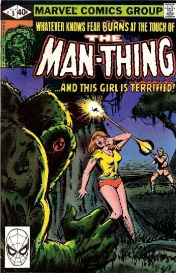 (Marvel) Cover for Man-Thing #5