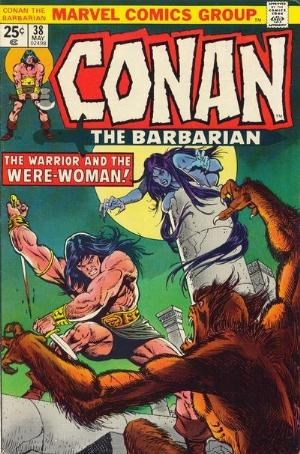 Comic Cover for Conan The Barbarian (#38)