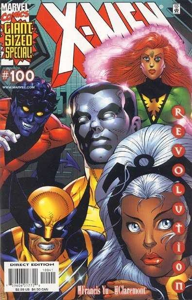 (Marvel) Cover for X-Men #100 Variant Dave Cockrum Cover