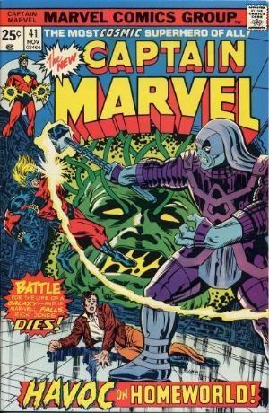 Comic Cover for Captain Marvel (#41)