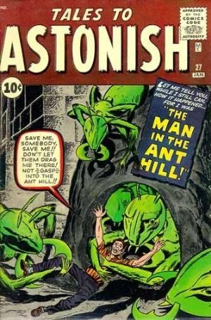Comic Cover for Tales To Astonish (#27)