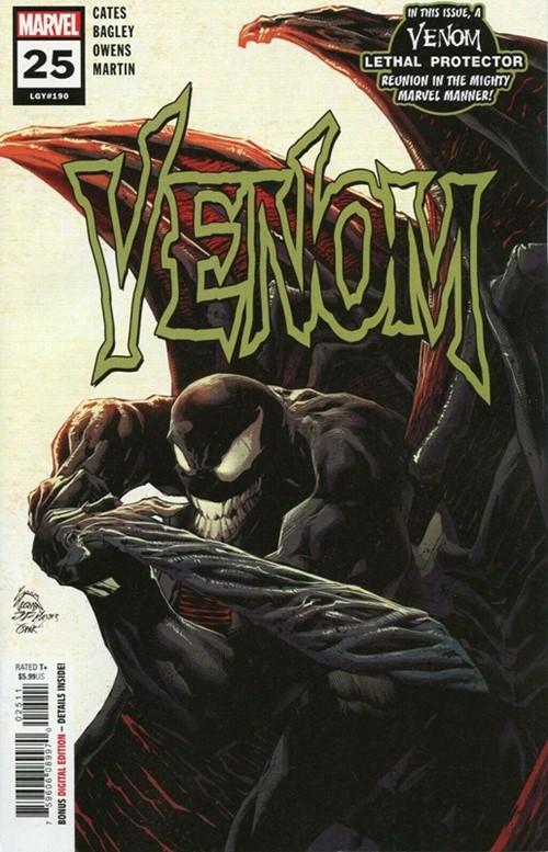 (Marvel) Cover for Venom #25 1st Appearance of Virus