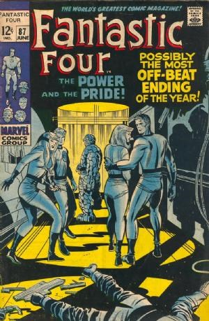 Comic Cover for Fantastic Four (#87)
