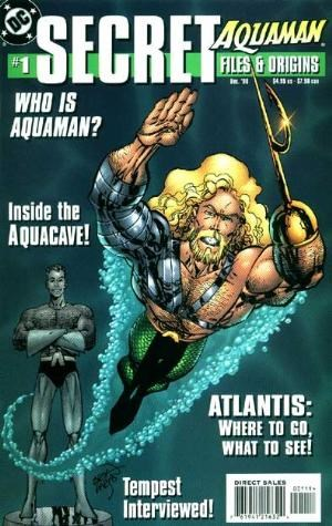 Comic Cover for AQUAMAN SECRET FILES (#)