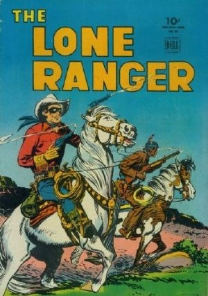 Comic Cover for Lone Ranger, The (Four-Color) (#82)