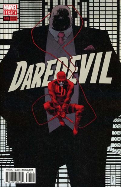(Marvel) Cover for Daredevil #595 Declan Shalvey Variant Cover. Limited 1 for 25.