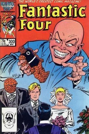 (Marvel) Cover for Fantastic Four #300
