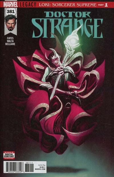 Comic Cover for Doctor Strange (Marvel Legacy) (#381)
