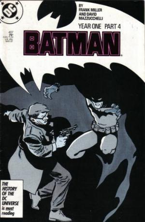 (DC) Cover for Batman #407 Direct Edition. Batman Year 1