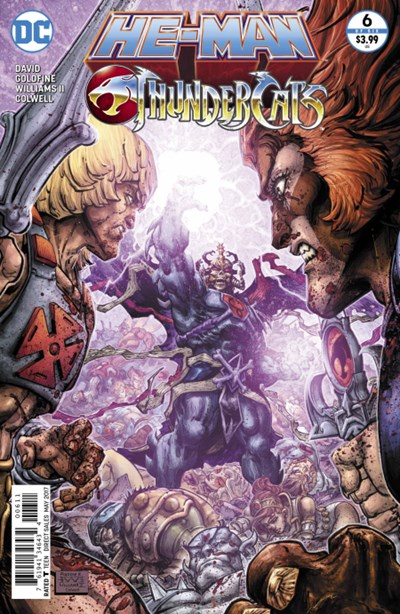 Comic Cover for He-Man/Thundercats (#6)