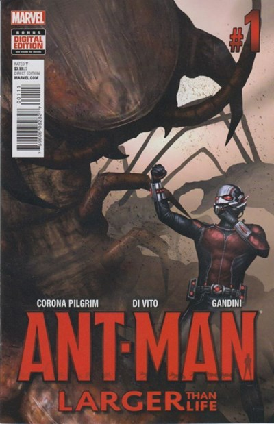 (Marvel) Cover for Ant-Man: Larger Than Life #1