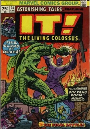 Comic Cover for Astonishing Tales (#24)