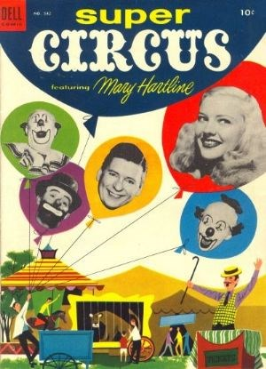 (Dell) Cover for Super Circus #542 Photo cover: Mary Hartline