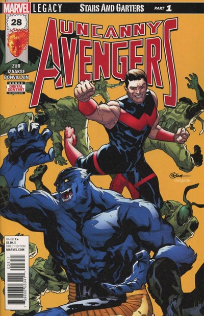 Comic Cover for Uncanny Avengers (#28)