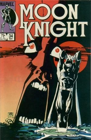 (Marvel) Cover for Moon Knight #34