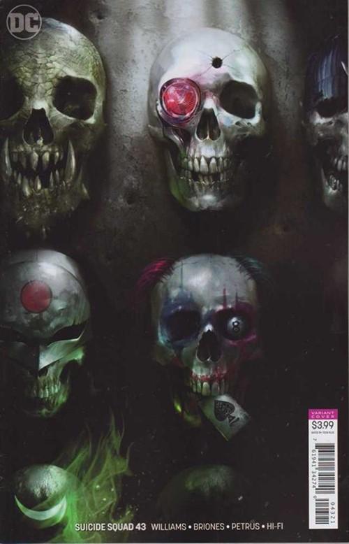 (DC) Cover for Suicide Squad #43 Francesco Mattina Variant Cover