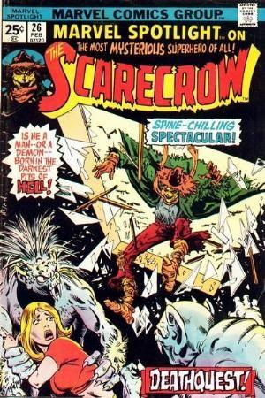 Comic Cover for Marvel Spotlight (#26)