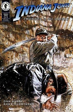 (Dark Horse) Cover for Indiana Jones: Thunder In The Orient #3