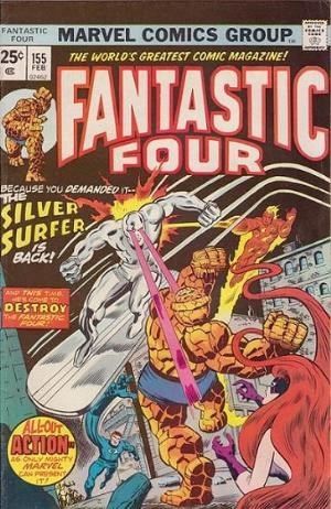 Comic Cover for Fantastic Four (#155)
