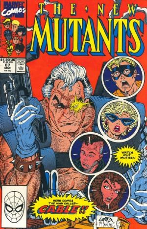 Comic Cover for New Mutants, The (#87)
