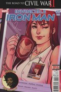 INVINCIBLE IRON MAN #10-2nd Print