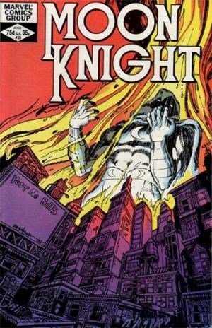 (Marvel) Cover for Moon Knight #20