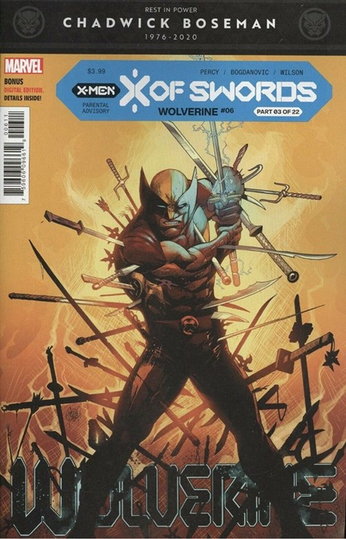 (Marvel) Cover for Wolverine #6