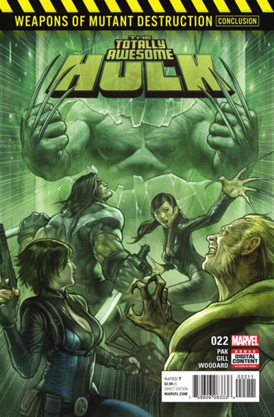 Comic Cover for Totally Awesome Hulk, The (#22)