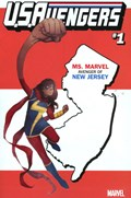 U.S.AVENGERS #1JJ  Variant Cover Rod Reis New Jersey State Variant Cover