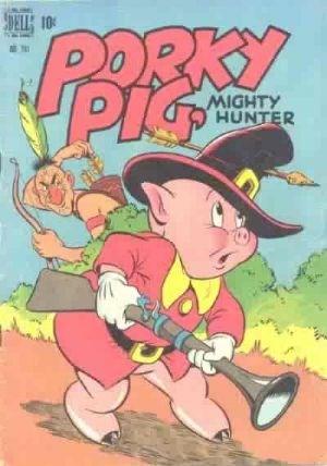 Comic Cover for Porky Pig (Four Color) (#241)