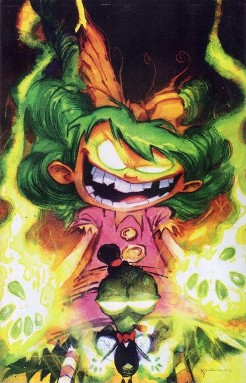 (Image) Cover for I Hate Fairyland #20 Bill Sienkiewicz Variant Cover