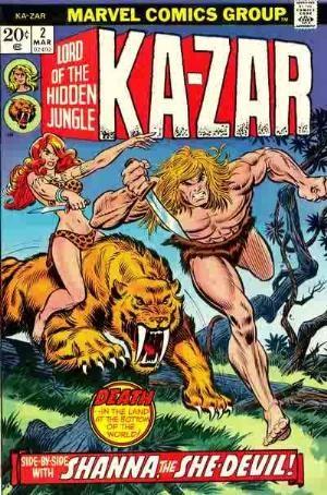 Comic Cover for Ka-Zar (#2)