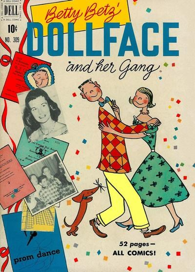 Comic Cover for Dollface & Her Gang (Four-Color) (#309)