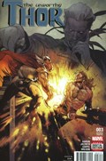 UNWORTHY THOR, THE #3C  Variant Cover Olivier Coipel Second Printing Variant Cover