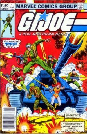 Comic Cover for G.I. Joe: A Real American Hero (#1)