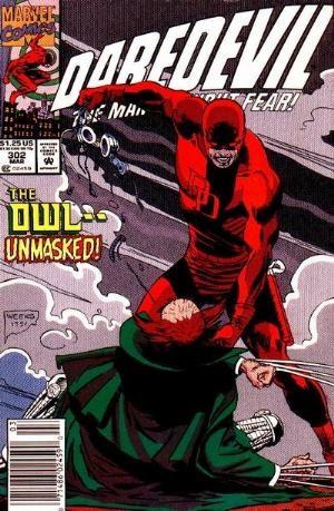 Comic Cover for Daredevil (#302)