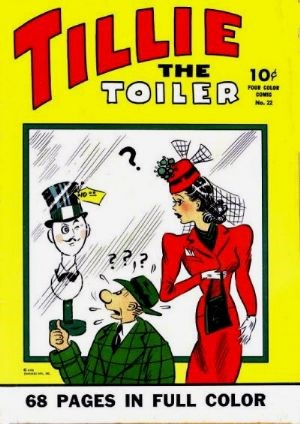Comic Cover for Tillie The Toiler (Four-Color) (#22)