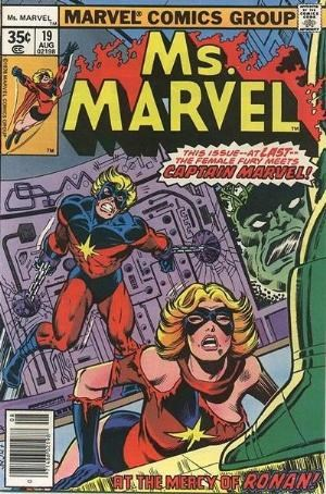 Comic Cover for Ms. Marvel (#19)