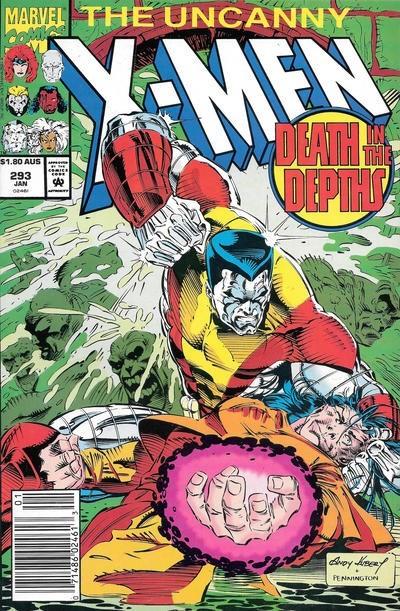 (Marvel) Cover for Uncanny X-Men #293 Australian $1.80 Variant Cover